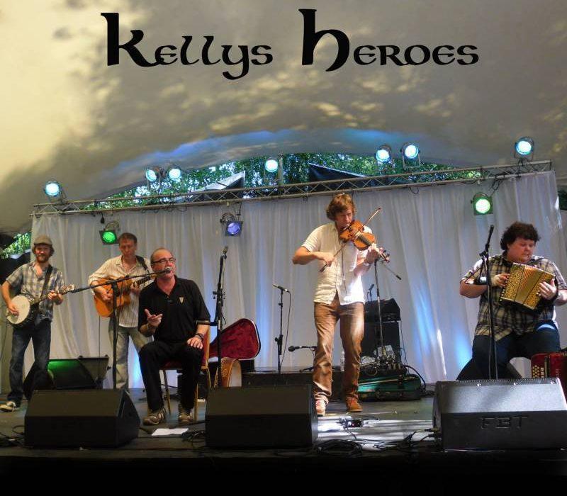 Kelly's Heroes, popular Nottingham based Celtic folk band   Matters