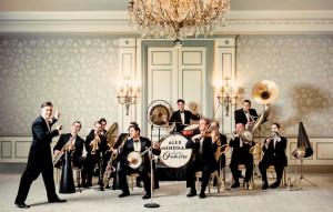 Alex Mendham and orchestra