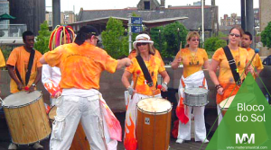 Brazilian drumming group