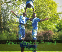 African Acrobatic Pyramid Troupe