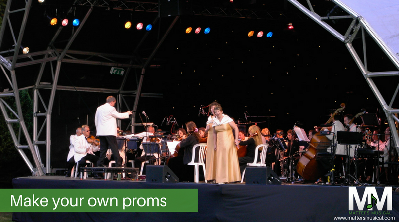 Open Air orchestra, own proms