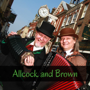 Allcock and Brown - Christmas entertainers