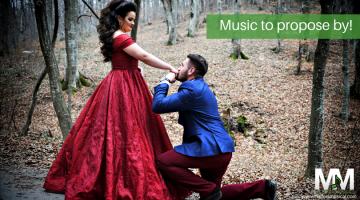 Valentine proposal music