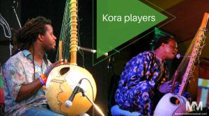 Kora players