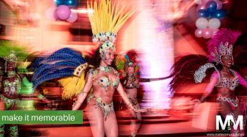 Carnival dancer for corporate event entertainment