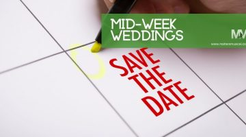 Save the date for wedding entertainment